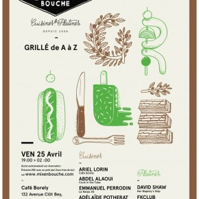 SESSION # PRINTEMPS/ GRILLE / 25 AVRIL/ CAFE BORELY/MARSEILLE