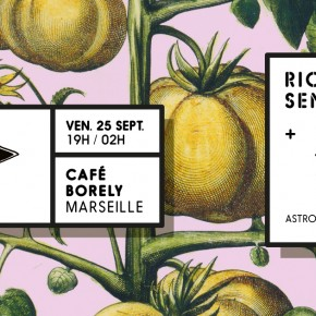 Mix en bouche is back! Cafe Borely le 25 septembre