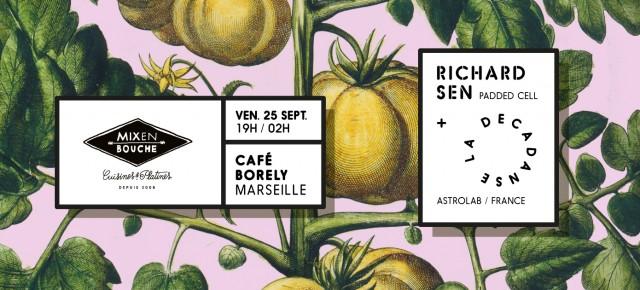 Mix en bouche is back! Cafe Borely le 25 septembre