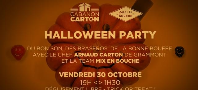 Cabanon Carton // Mix en Bouche // Barbecue party