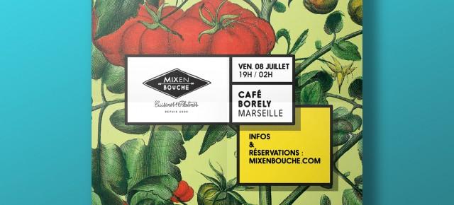 Ce soir 8 juillet au Café Borely !!!